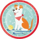 Dog Party Dinner Plate