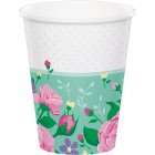 Floral Fairy Sparkle Cups