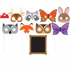 Forest Animals Enhanced Photo Booth Props