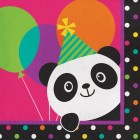 Panda-monium Lunch Napkins