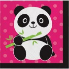 Panda-monium Beverage Napkins