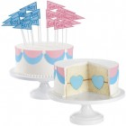 Wilton Gender Reveal Heart Cake Pan