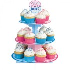 Girl or Boy?  Cupcake Treat Stand