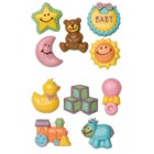 Wilton Baby Themed Large Chocolate Mould 2 pack