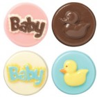 Wilton Baby Theme Oreo/Chocolate Mould