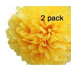 40cm Yellow Pom Pom Kit
