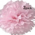 40cm Light Pink Pom Pom Kit
