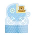 Teddy Bear Blue Table Centre