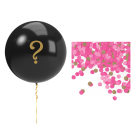Gender Reveal 90cm Balloon Kit - Pink