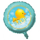 Bubble Bath Welcome Baby Foil Balloon