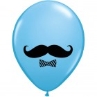 28cm Moustache and Bow Tie Balloon