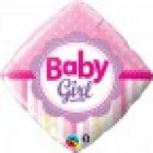 Baby Girl Diamond Balloon