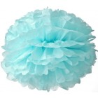 40cm Light Blue Pom Pom Kit