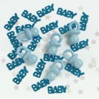 Baby Shower Blue Mix Table Scatters