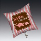 Baby Safari Pink Square Foil Balloon