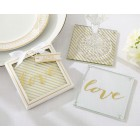 Gold Love Coasters