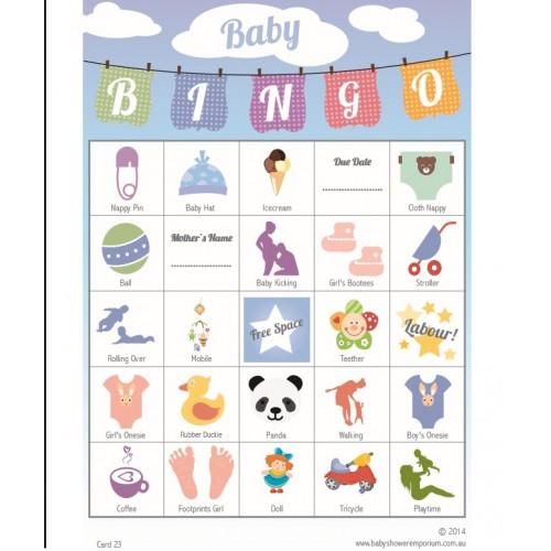 40 Player Baby Bingo