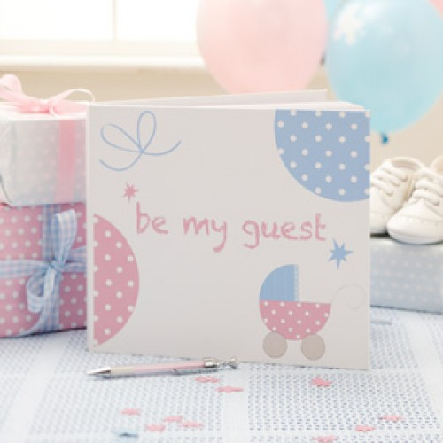 Baby Gift Emporium : Tiny feet guest book