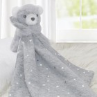 Cuddle Me Security Blanket Set - Silver Stars