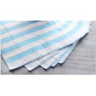 Striped Lunch Napkin - Blue/White