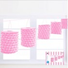 Spotty Pink Paper Garland