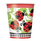 Lively Ladybugs Cups