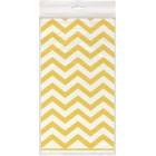 Chevron Yellow Tablecover