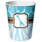 Baby Safari Blue Hot/Cold Cups