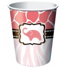 Baby Safari Pink Hot/Cold Cups