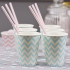 Chevron Divine Cups Blue