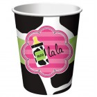 Baby Cow Print Girl Cups