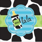 Baby Cow Print Boy Lunch Napkins