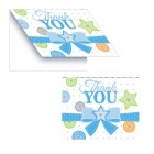 Cute As A Button Boy Thank You Cards