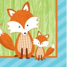 Forest Fox Beverage Napkins