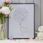 Little One Canvas Fingerprint Keepsake