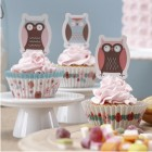Patchwork Owl Cupcake Kit