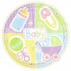 Baby's Nursery Paper Plates