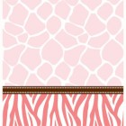 Baby Safari Pink Tablecover