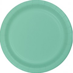 Fresh Mint Round Lunch Plate