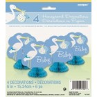 Baby Boy Stork Mini Tablecentres