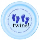 Twins Blue Lunch Plate