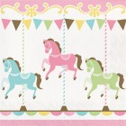 Carousel Lunch Napkin