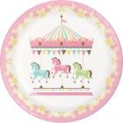Carousel Dinner Plate