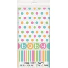Pastel Baby Shower Tablecover