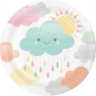 Sunshine Baby Shower Dessert Plate