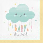 "Sunshine Baby Shower Lunch Napkin ""Baby Shower"""