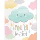 Sunshine Baby Shower Invitations