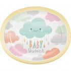 Sunshine Baby Shower Oval Platter