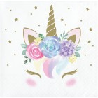 Unicorn Baby Beverage Napkin