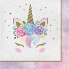 Unicorn Baby Lunch Napkin